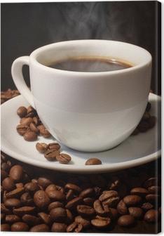 Kaffe. Fotolærred