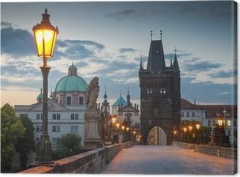 Karlsbroen, Prag Fotolærred