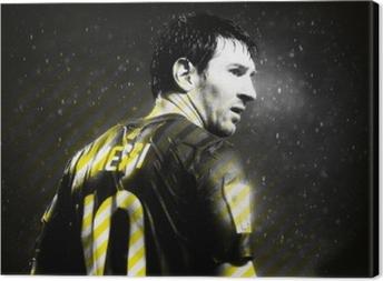 Lionel Messi Fotolærred