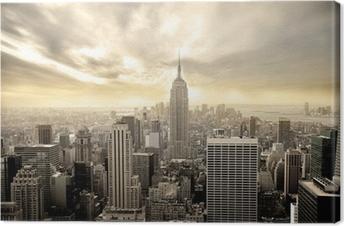 Manhattan Fotolærred