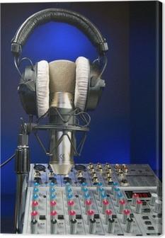 Mixer, Mic og hovedtelefoner Fotolærred