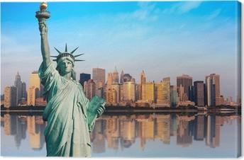 New York statue de la Liberté Fotolærred