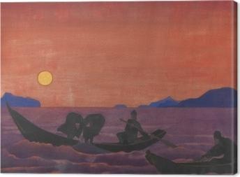 Nicholas Roerich - Balık Tutmaya Devam Fotolærred