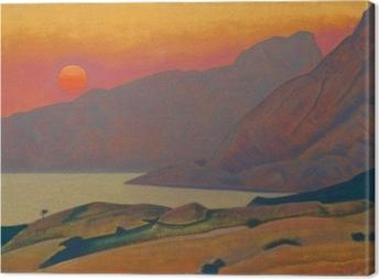 Nicholas Roerich - Monhegan. Maine Fotolærred