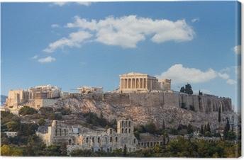 Parthenon, Akropolis - Athen, Grækenland Fotolærred