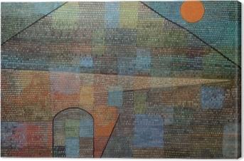 Paul Klee - Ad Parnassum Fotolærred