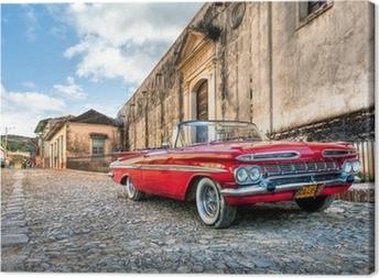 Red Chevrolet Fotolærred