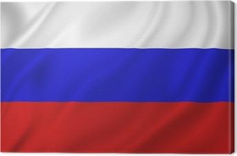 Rusland flag Fotolærred