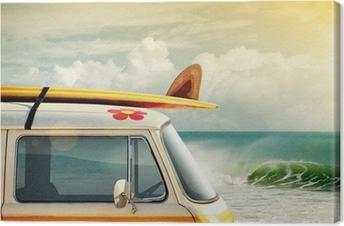 Surfing Livsstil Fotolærred