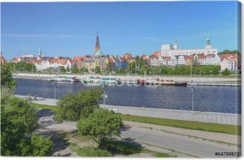 Szczecin - bulwary Fotolærred