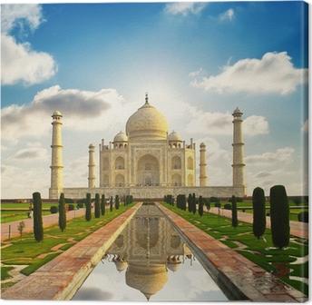Taj Mahal i Indien Fotolærred