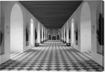 Tavle gulv Fotolærred