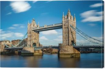 Tower Bridge Londres Angleterre Fotolærred