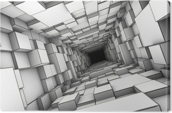 Tunnel Fotolærred