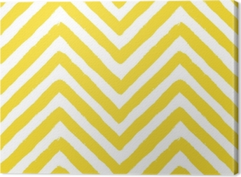 Vektor chevron gul sømløse mønster Fotolærred