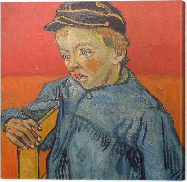 Vincent van Gogh - Den Skoledreng Fotolærred - Reproductions