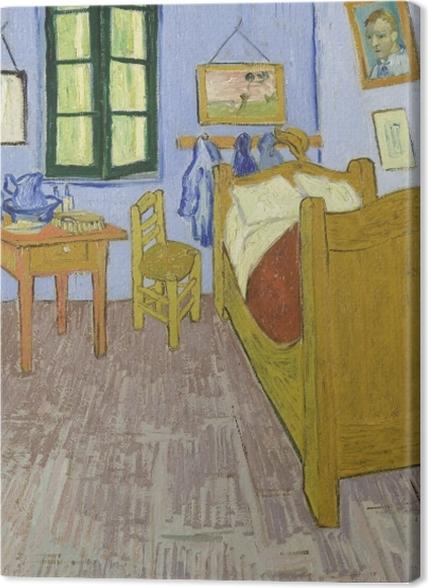 Vincent van Gogh - Soveværelset i Arles Fotolærred - Reproductions
