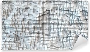 Fotomural Autoadhesivo Azulejo blanco