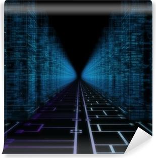 Fotomural Autoadhesivo Hacker mundo