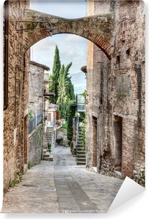 Fotomural Autoadhesivo Italiano antiguo callejón