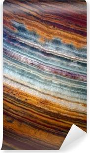 Fotomural Autoadhesivo La textura de la piedra preciosa de ónix