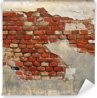 Fotomural Autoadhesivo Muro de piedra del ladrillo viejo