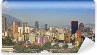 Fotomural Autoadhesivo Skyline de la ciudad de Caracas, capital de Venezuela