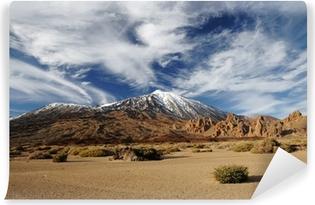 Fotomural Autoadhesivo Volcán Teide desde lejos