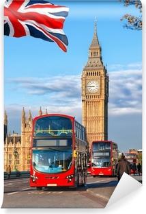 Cortina opaca Ben grande con autobuses en Londres, Inglaterra, Reino Unido  • Pixers® - Vivimos para cambiar