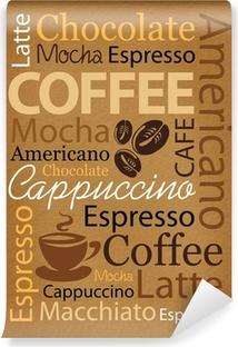 Fotomural Estándar Café