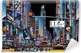 Fotomural Estándar Calle en New York City