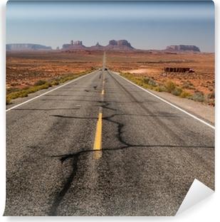 Fotomural Estándar Camino a Monument Valley - fuera de la vista