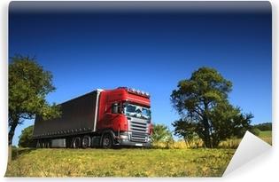 Fotomural Estándar Camión en la carretera