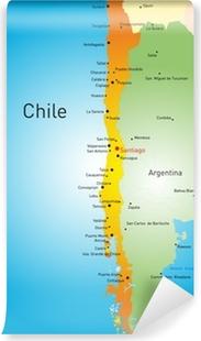 Fotomural Estándar Chile país