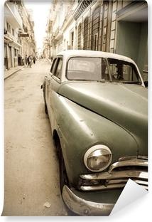 Fotomural Estándar Coche antiguo de Cuba