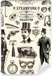 Fotomural Estándar Colección señores Steampunk