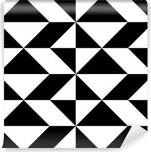 Fotomural Estándar Diseño del papel de embalaje sin fisuras. Fondo geométrico abstracto moderno