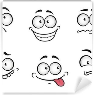 Cuadro En Lienzo Emociones Dibujos Animados Caras Pixers