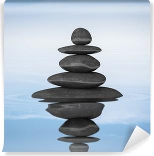 fotomural zen equilibrio piedras pixers vivimos para cambiar - Piedras Zen