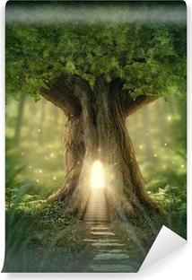 Fotomural Estándar Fantasía casa del árbol