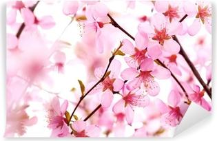 Fotomural Estándar Flor hermosa de la flor rosa en