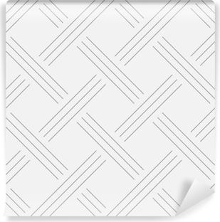 Fotomural Estándar Fondo geométrico, cuadrados. diseño de la línea. Patrón sin fisuras. Ilustración del vector EPS 10