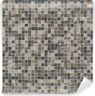 Fotomural Estándar Gran textura transparente cuadrado de los azulejos de mosaico 07