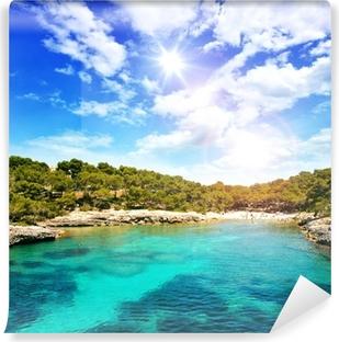 Fotomural Estándar Hermosa bahía de aguas cristalinas