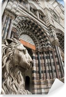 Fotomural Estándar Iglesia de San Lorenzo - Génova Italia