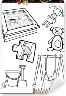 Dibujos Animados De Objetos Para Colorear Imagesacolorierwebsite
