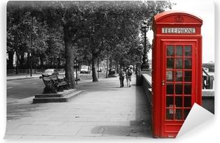 Fotomural Lavable Cabina de teléfono de Londres