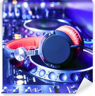 Fotomural Lavable Dj con auriculares