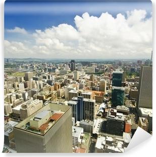 Fotomural Lavable Johannesburgo Skyline de arriba de Sudáfrica