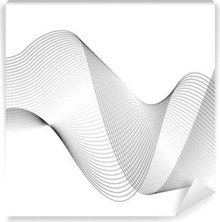 Fotomural Lavable Ondas y líneas